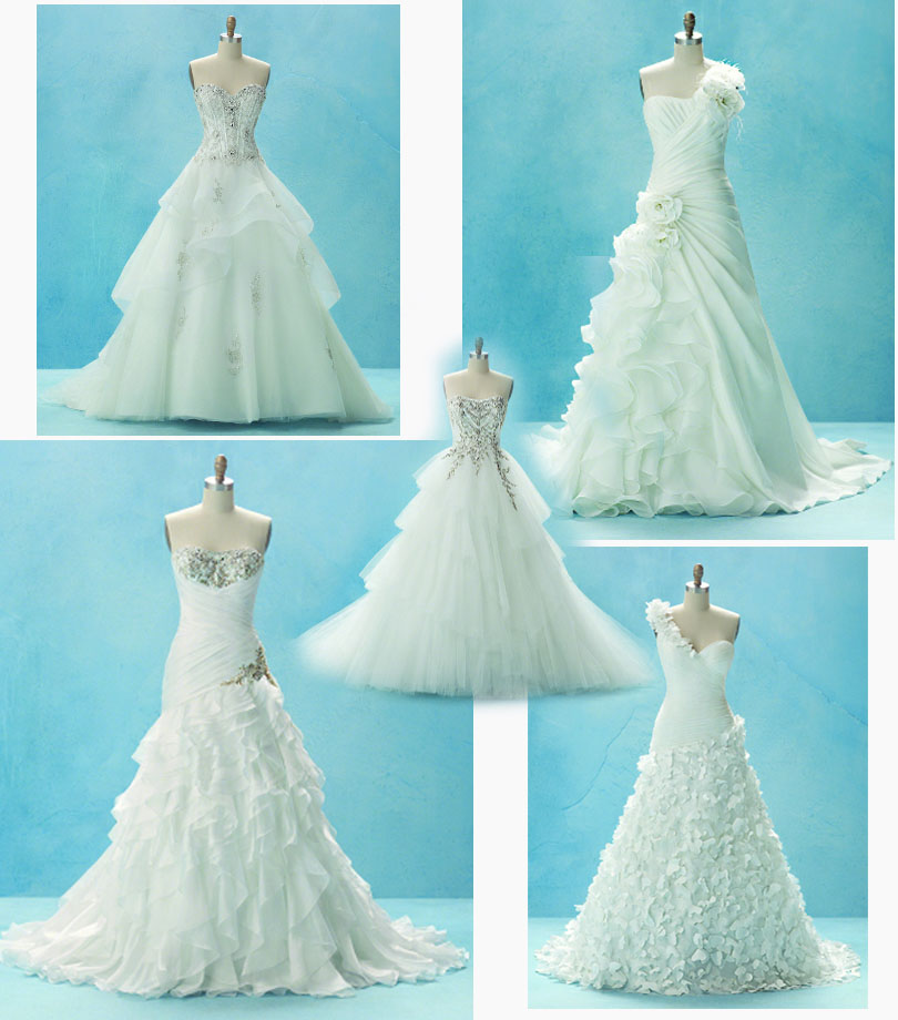 Bridal gowns luxur weddings events for Wedding dress disney collection